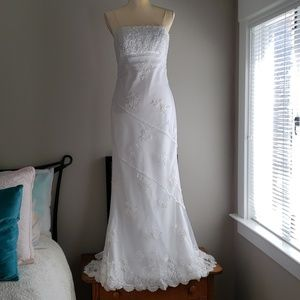Wedding (or prom) gown